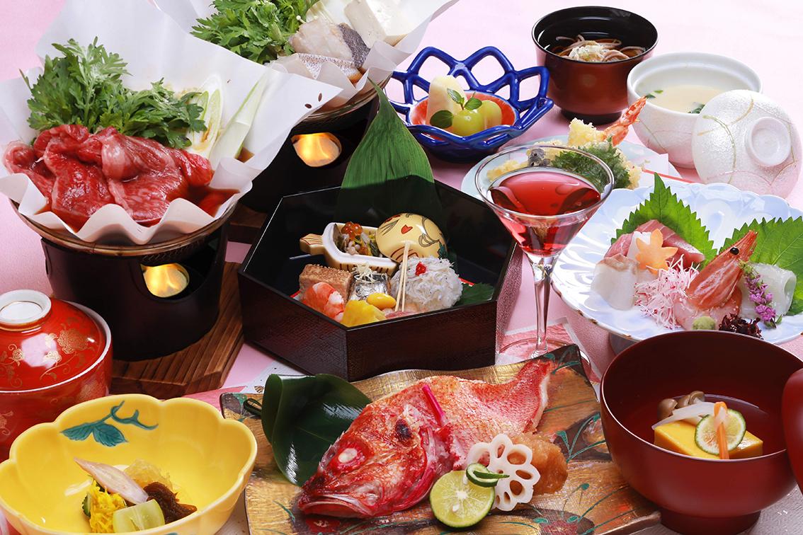 お祝い料理「紅梅(こうばい)」