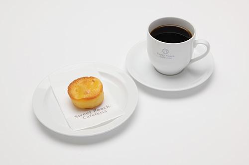 りんごケーキセット