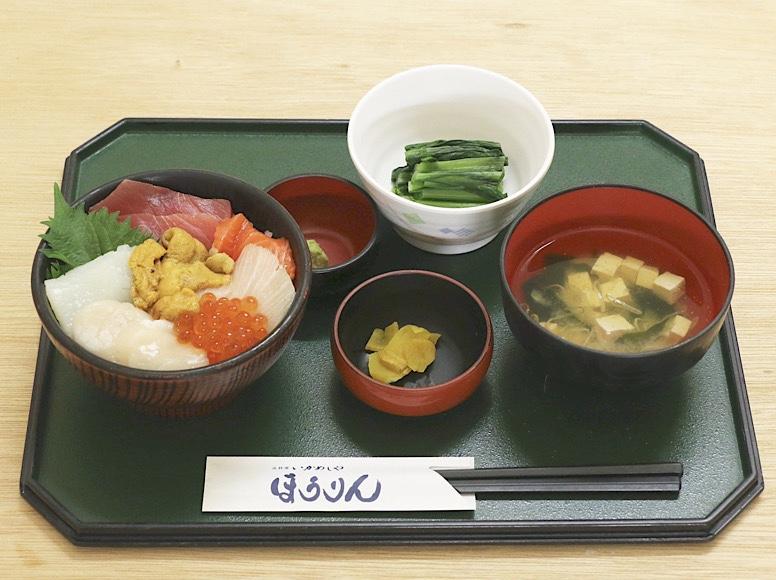 七色丼定食