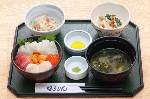 五色丼定食