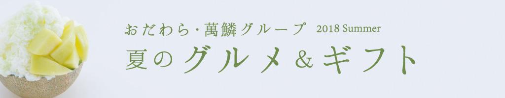 おだわら・萬鱗グループ 夏号チラシ