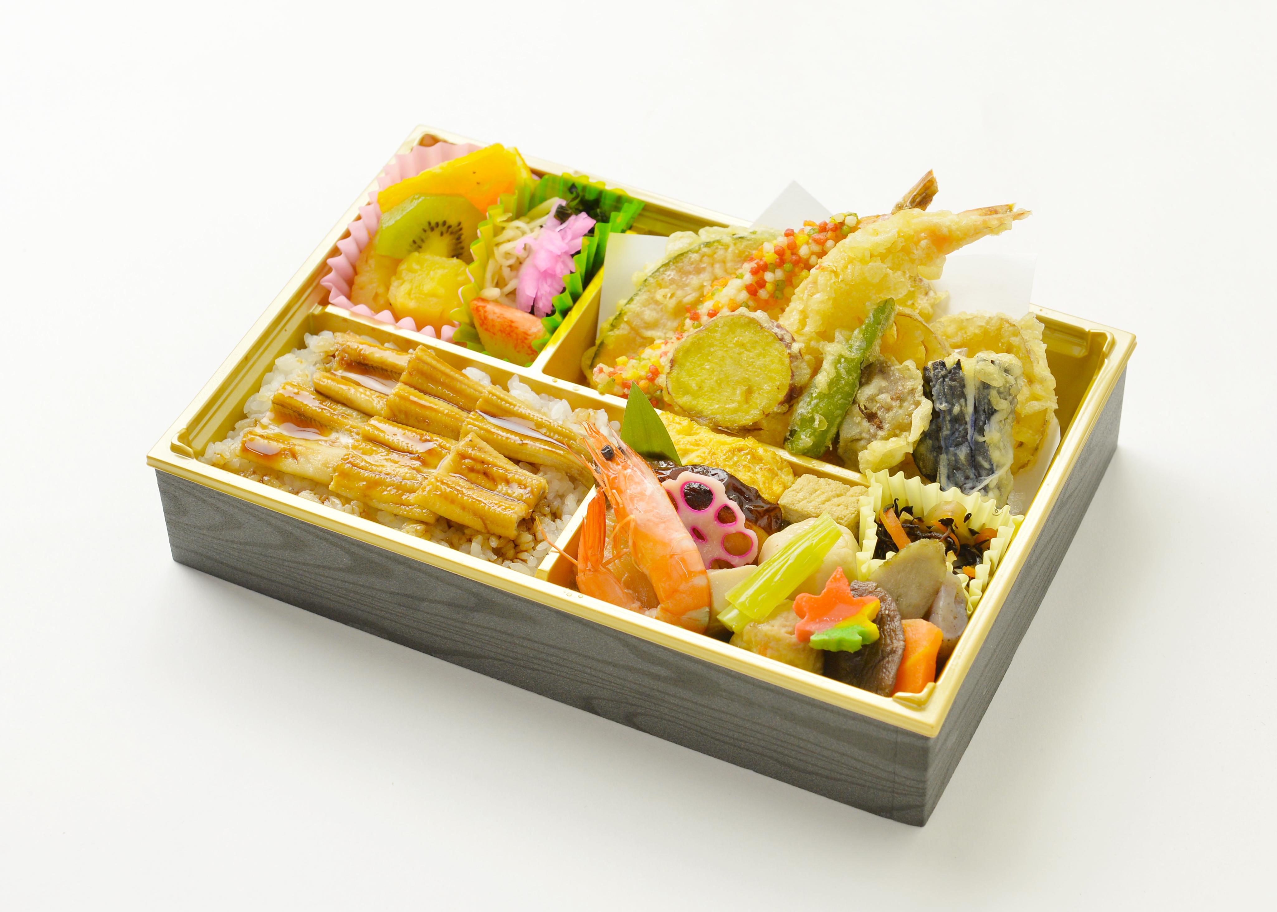 穴子飯と天ぷらの大満足弁当