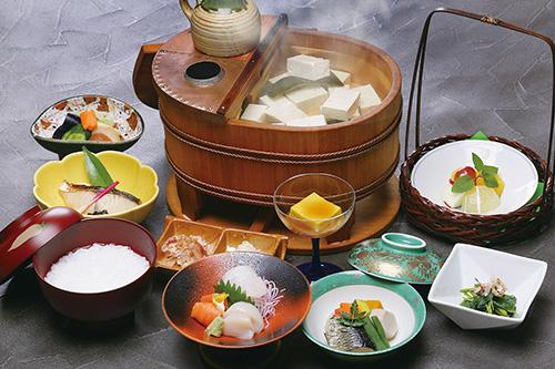 湯豆腐コース