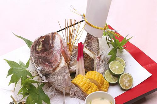 『お祝い鯛・お食い初め御膳』のご紹介