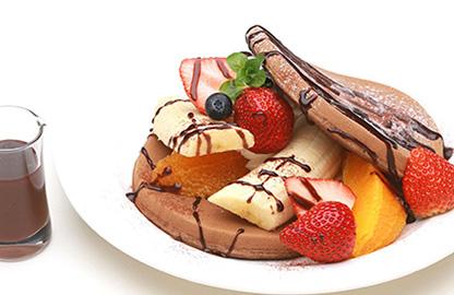 【期間限定】ショコラパンケーキ