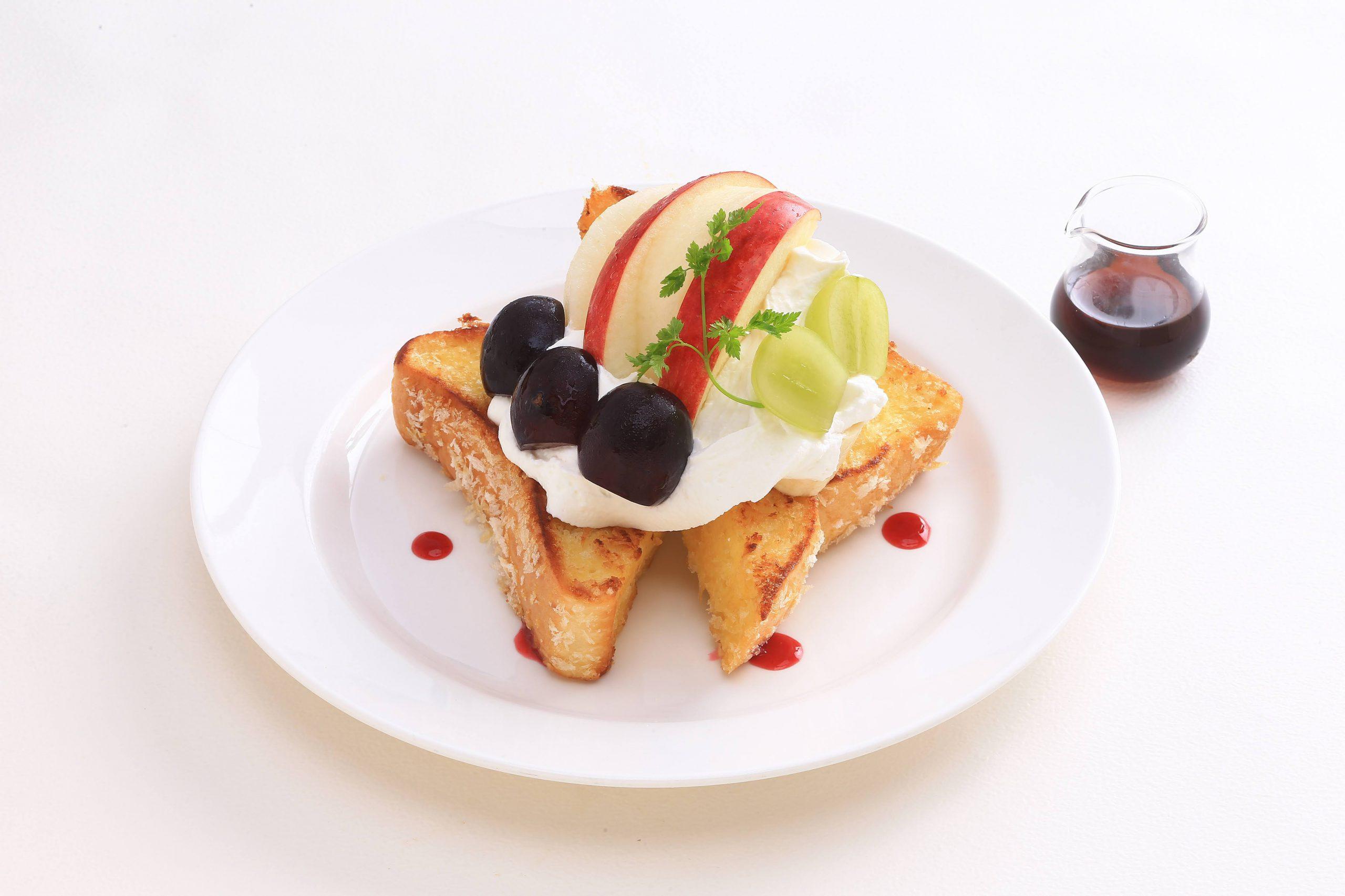 【期節限定】秋果実フレンチトーストランチ