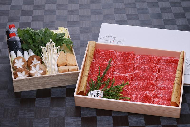 すき焼きセットモモ 約600g(12月1日より販売)