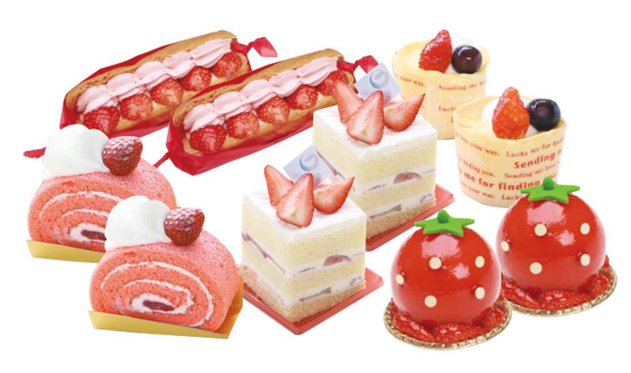 【2・3月春限定】いちごのデザート10個セット